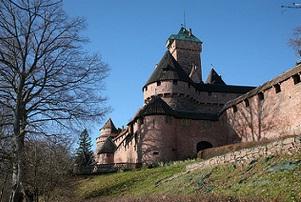 Combien de châteaux en Alsace ?